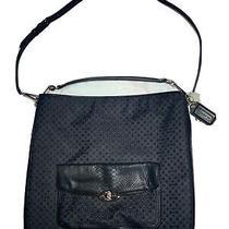 Nwt Coach Madison Op Art Pearlescent Signature Hobo Shoulder Bag 27906 Laptop Photo