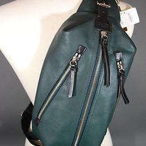 Nwt Coach Men Thompson Leather Sling Bag Backpack 7036 Photo