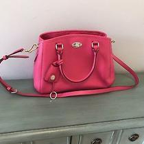 Nwt Coach Mini Margot Margo Carryall Purse Handbag Pink Satchel Pocket Book Photo