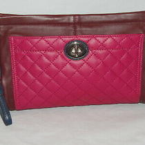Nwt - Coach Park Quilted Large Leather Clutch - F50147 Photo