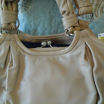 Nwt Coach Parker Satchel Biege Free Shipping Photo