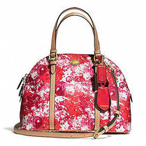 Nwt Coach Peyton Floral Cora Domed Satchel F31341 358 Photo