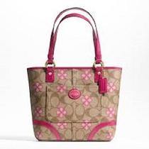 Nwt Coach Peyton Signature Clover Tote Style F22041 Photo