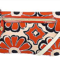 Nwt Coach Poppy Floral Scarf Ew Swingpack Bag in Desert Sky/neutral 49769 Photo