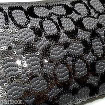 Nwt Coach Poppy Sequin Signature C Wrist Purse Iphone Case Wallet Multi Use Bag Photo