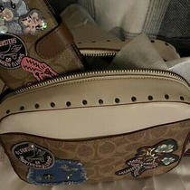 Nwt Coach Rare Leather Patch/studded Set Photo