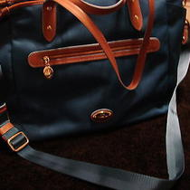 Nwt Coach Sawyer Diaper Bag Multi-Function Tote     Bright Mineral Blue/saddle Photo