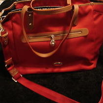 Nwt Coach Sawyer Diaper Bag Multi-Function Tote     Classicred/saddle Photo