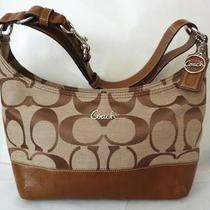 Nwt Coach Signature Pieced East-West Duffle Shoulder / Hand Bag F17491 278 Msrp Photo