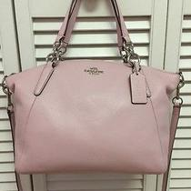 Nwt Coach Small Kelsey Pink Pebbled Leather Crossbody Satchel Handbag Bag Photo