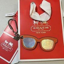 Nwt Coach Sunglasses Key Ring Tag Photo