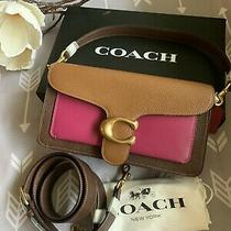 Nwt Coach Tabby 26 Colorblock 76105 Hibiscus Multi/gold Bag Purse Photo