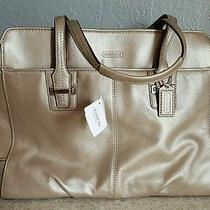 Nwt Coach Taylor Alexis Business Leather Carryall Laptop Shoulder 25205 428 Photo