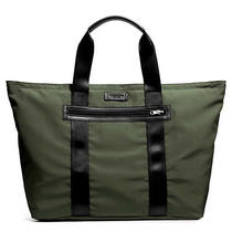 Nwt Coach Varick Packable Folding Weekend Tote Gym Beach Diaper Bag Olive 93314 Photo