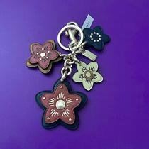 Nwt Coach Wildflower Mix Bag Charm Key Chain Fob Ring F26790 98 Photo