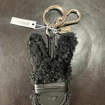 Nwt Coach X Baseman Emanuel Hare Ray Rabbit Shearling Key Ring Chain Fob 64763 Photo