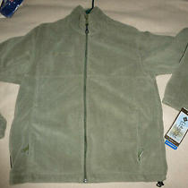 Nwt Columbia Flattop Mountain Ii Fleece Jacket/sweater Green Mens M Photo