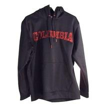 Nwt Columbia Heat Up Graphic Logo Hoodie With Omni Heat  Black   Size Xl  Photo