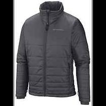Nwt Columbia Omni-Heat Mens Hooded Jacket (Large / Graphite) Photo