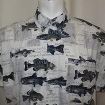Nwt Columbia Outdoor Fishing Mens Short Sleeve Shirt Size Xl  Photo