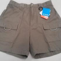 Nwt Columbia Pfg Upf 50 Womens Brewha Ii Shorts Size Medium Sage Free Shipping Photo