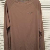 Nwt Columbia Phg Terminal Shot Long Sleeve Shirt- Size Medium Photo
