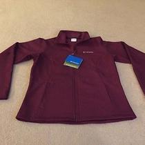 Nwt Columbia Sportswear Abby Ace Softshell Womens M Medium Jacket Maroon Photo