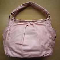 Nwt Couch Parker Metallic Pearl Rose Gold Leather Shoulder Bag / Tote Photo
