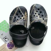 Nwt Crocs Electro Kids Realtree Apc/camouflage (Graphite/black)/c8 Photo
