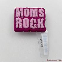 Nwt Crocs Jibbitz Mom's Rock Distressed Stone Texture Shoe Charms Photo