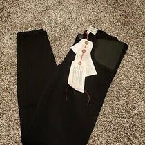 Nwt Current Elliott Stiletto Maternity Jeans Black 24 Photo