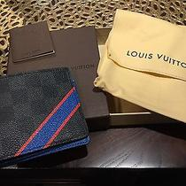 Nwt Damier Graphite Multiple Wallet in Custom Colors Photo