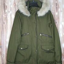 Nwt Derek Lam 10 Crosby Fox Fur Lamb Leather Trim Down Parka Coat Small S 780 Photo