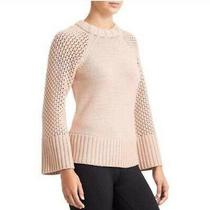 Nwt Derek Lam Athleta S Sweater Village Blush Pink Cashmere Crew Neck Chunky New Photo