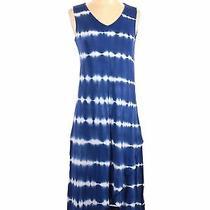 Nwt Design History Women Blue Casual Dress S Photo