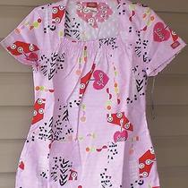 Nwt Dickies Jr 82841 Square Neck Scrubs Top Pink About It Pkat Medium Free Ship Photo