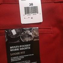 Nwt Dickies Men Shorts Work Loose Fit Size 38 Photo