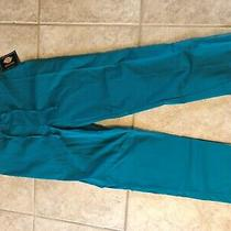 Nwt Dickies Teal (Color Dtl) Scrub Pants Size Xs Photo