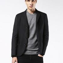 Nwt Diesel J-Douglas Jacket Blazer Only Men's Size 46 Black 598 Photo