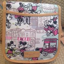 Nwt Disney Dooney & Bourke Downtown Mickey & Minnie Crossbody Shoulder Bag Photo