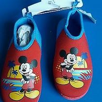 Nwt Disney Mickey Mouse Water Shoes Size 9 Photo