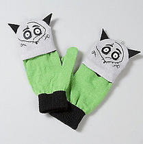 Nwt Disney Tim Burton Frankenweenie Sparky Knit Convertible Gloves Photo