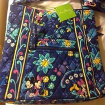 Nwt Disney Vera Bradley Large Hipster Disney Dreaming Mickey Minnie New Release4 Photo