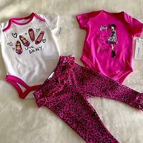 Nwt Dkny 3pc Set (3-6m) Photo