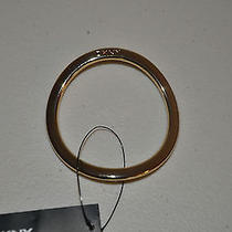 Nwt Dkny Gold Tone Cozy Ring to Use With Dkny Cozy Looks Photo