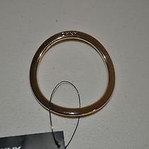 Nwt Dkny Gold Tone Cozy Ring to Use With Dkny Cozy Looks Photo
