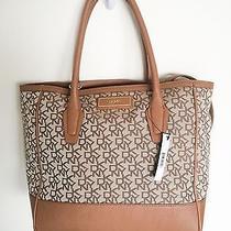 Nwt Dkny Handbag Tote Shoulder Purse Bag t&c W/ Vintage Chino Tan Msrp 245 Photo