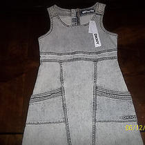 Nwt Dkny Jeans Denim Dress Size M Photo