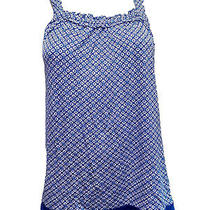 Nwt Dkny  Pajama Set Two Piece Blue Color Size Medium Photo