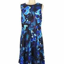 Nwt Dkny Women Blue Casual Dress 14 Photo